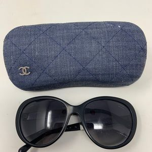 Chanel Polarized Black Sunglasses